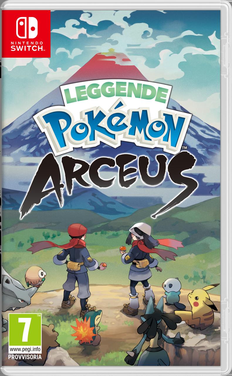 Leggende Pokémon: Arceus - Pokémon Central Wiki