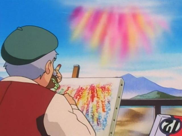 Un misterioso arcobaleno