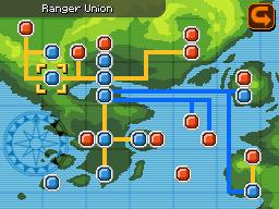 Federazione Ranger sulla mappa di Almia