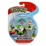 Figure Dartrix, Sandygast e Mareanie da 2 3 e 4.5 pollici della Wicked Cool Toys - Collezione Pokémon Battle Figure Set 2019.jpg
