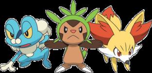 Artwork Pokémon iniziali Kalos anime XY.png
