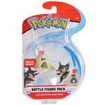 Figure Rattata Forma Alola e Sandygast 2 pollici della Wicked Cool Toys - Collezione Pokémon 2 Inch Figure Battle Packs 2018.jpg