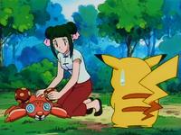 Un Pokémon pauroso