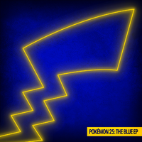 Pokémon 25 The Blue EP cover.png
