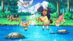 Iris giovane gioca con i Pokemon.png