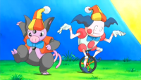 Mr. Mime di Clown