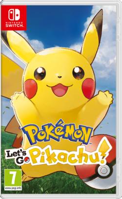 Pokémon Lets Go Pikachu E Lets Go Eevee Pokémon Central Wiki