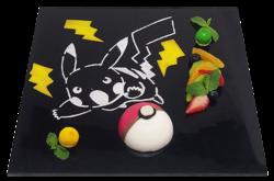 Piatto Dessert Poké Ball (Pikachu Café).png