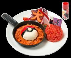 Mossa decisiva Fuocobomba! ArcheoGroudon di Mabo Tofu (Pokémon Café Omega Ruby and Alpha Sapphire).png