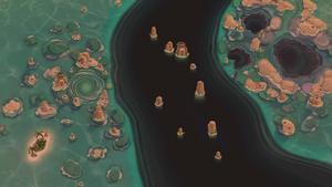 Barriera corallina di Opuleo Mare tramonto.png