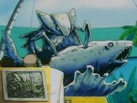 Kabutops Fish Statue.png