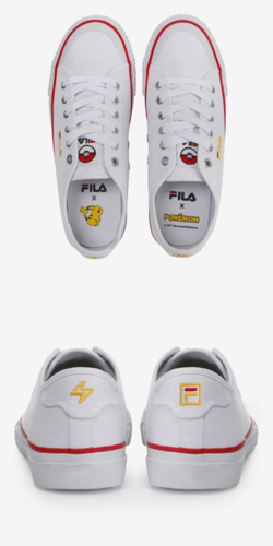 Fila x Pokemon Classic Kicks B Pikachu FS1SIA1220X WWT.png