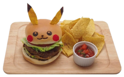 Pikachu Hamburger in salsa di Teriyaki (Pikachu Café).png