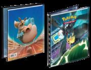 Raccoglitore 4 tasche Team Up Pikachu e Zekrom-Eevee e Snorlax.png