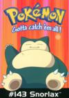 Cartolina 10 PC0179 Pokémon 143 Snorlax GB Posters.png