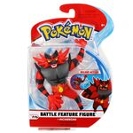 Figure Incineroar 4.5 pollici della Wicked Cool Toys - Collezione Pokémon 4.5 Inch Figure Battle Deluxe Action 2019.jpg