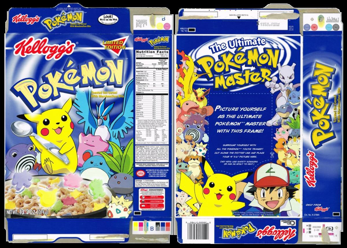 Pokémon Cereali d'Avena Tostata con Pezzetti di Marshmallow - Pokémon  Central Wiki