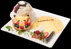 Appare dalla Poké Ball!! Bignè di Poké Ball e di Pikachu (Pokémon Café Omega Ruby and Alpha Sapphire).png