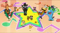 Pikachu e la banda musicale Pokémon