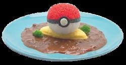 Omuhayashi Poké Ball (Pikachu Café).png