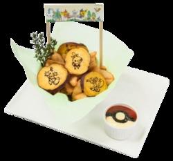 Tutti si radunano al Pokémon Café! Patate fritte del Pokémon Café (Pokémon Café Omega Ruby and Alpha Sapphire).png