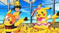 Pikachu Wrestler