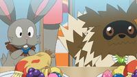 Grande gara Pokémon di cibo Zigzagoon Bunnelby.png