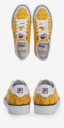 Fila x Pokemon Classic Kicks B Pikachu Shoes FS1SIA1225X YEL.png