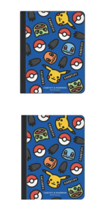 CASETiFY & Pokémon - 10.5-inch 11-inch (2019) Folio - Stickers by Craig & Karl (Blue) (The Icons Pikachu Bulbasaur Charmander Squirtle - 2019).png