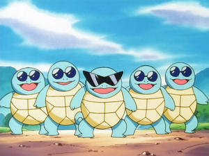 Here Comes the Squirtle Squad