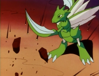 Scyther di Tracey