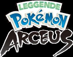 Leggende Pokémon Arceus logo.png