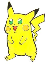 Pikachu di Red