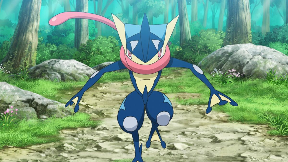 Greninja di Ash - Pokémon Central Wiki