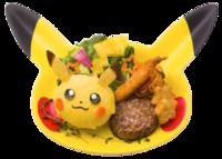 Piatto Avido di Pikachu (Pokémon Café Tokyo DX).png