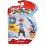 Figure Ash e Pikachu 4.5 pollici della Wicked Cool Toys - Collezione Pokémon 4.5 Inch Figure Battle Deluxe Action 2018.jpg