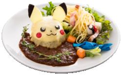 Anche Pikachu Ama l'Hamburger! Insalata ha Pollock! Salire di Livello con Caramella Rara!! (Pokémon Café Everything with Fries di Singapore).png