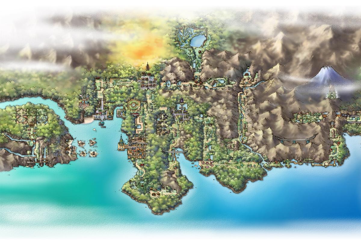 Johto Pokémon Central Wiki