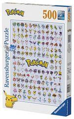 Puzzle I Primi 151 Pokémon da 500 pezzi 33x23x3cm No.147816 della Ravensburger (2008).jpg