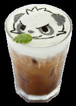 Caffé Latte Pancham Malizioso (Pokémon Café Pikachu and Pokémon Music Café).png