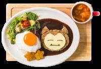 Anche Snorlax vuole la Pancia Piena!! Loco Moco (Pokémon Café Tokyo DX Menù Estivo).png