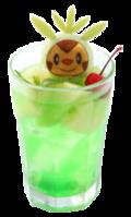 Chespin Soda Goloso Melone (Pokémon Café Pikachu and Pokémon Music Café).png