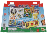 Manifesto pubblicitario in cartoncino delle Jumbo Carddas W Pokémon Parte 2 del 1997 della Bandai.png