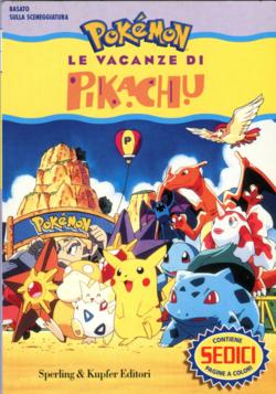 Le vacanze di Pikachu libro cover.png