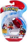Figure Litten 2 pollici con Poké Ball della Wicked Cool Toys - Collezione Pokémon Clip 'N' Go Poké Ball Series 2 2019.jpg