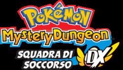 Pokémon Mystery Dungeon Squadra di Soccorso DX Logo ITA.png