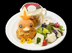 Una Passeggiata nella Foresta Piatto Stufato di Manzo Torchic (Pokémon Café Pikachu and Pokémon Music Café).png