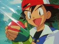 Il primo Pokémon catturato
