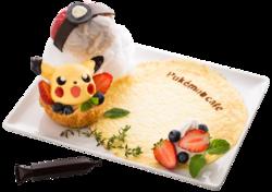 Appare dalla Poké Ball!! Bignè di Poké Ball e di Pikachu (Pokémon Café Everything with Fries di Singapore).png