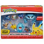 Figure Multipack Pikachu Eevee Rowlet Litten Popplio Cosmog Wobbuffet Metang da 2 e 3 pollici della Wicked Cool Toys - Collezione Pokémon Battle Figure Multipack 2019.jpg